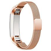 Negro / Rose / Dorado / Plata Acero Inoxidable / Metal Correa Milanesa Para Fitbit Reloj 10mm