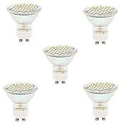 5pcs 2700/6500lm GU10 GX5.3 LED-spotpærer MR16 48led LED perler SMD 2835 Dekorativ Varm hvit Kjølig hvit