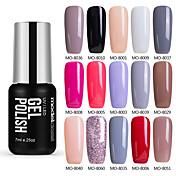 Gel UV para esmalte de uñas 0.007 1 Gel de color UV Clásico Empapa de Larga Duración Diario Gel de color UV Clásico Alta calidad
