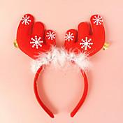 1pc Animales Muñecos de Nieve Santa Copo Estrellas Adornos Navidad Novedades Fiesta, Decoraciones de vacaciones Adornos navideños