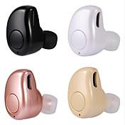 En el oido Sin Cable Auriculares El plastico Conducción Auricular Mini Con Micrófono Auriculares