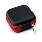 oppbevaringspose tilfelle for øretelefon hodetelefon tilfelle beholder kabel ørepluggene oppbevaringsboks posen bag hol