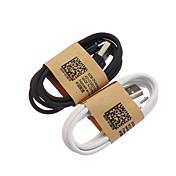1m de sincronización USB y cable de carga para el S4 y otros teléfonos celulares samsung galaxy s3 (colores surtidos)