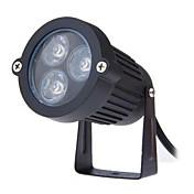 3w llevó la lámpara ac85-265v césped al aire libre pequeño triángulo de casquillo