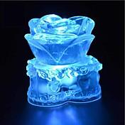 1 stk LED Night Light Nedslags Resistent / Vanntett Krystall / Kunstnerisk / LED