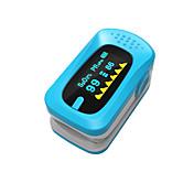 ying shi finger pulsoksimetre manuell lcd skjerm med tale / minne akkumulator hvit / rød / grønn / blå / orange