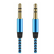 3,5 mm audio jack 3,5 mm audio jack to 3,5 mm audio jack 1,0 m (3 ft)
