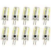 3W G4 Luces Decorativas T 64 SMD 3014 250-300 lm Blanco Cálido Blanco Fresco K Regulable AC220 V