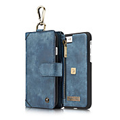 Para iPhone 8 iPhone 8 Plus iPhone 7 iPhone 7 Plus iPhone 6 Carcasa Funda Soporte de Coche Cartera Antigolpes Cuerpo Entero Funda Color