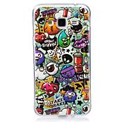 케이스 제품 Samsung Galaxy J7 (2016) J5 (2016) 야광 IMD 패턴 뒷면 커버 카툰 소프트 TPU 용 J7 (2016) J7 J5 (2016) J5 J3 J3 (2016) Grand Prime