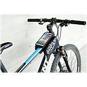 Bolsa para BicicletaBolso del teléfono celular Bolsa para Cuadro de BiciImpermeable A prueba de lluvia Banda reflectante Listo para