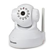 Sricam 1.0 MP Interior with Infrarrojo Premium 128G(Día de Noche Detector de movimiento Acceso Remoto Conecte y Utilice Configuración