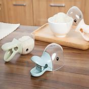 1pcs pato creativa medidores de pinza multiusos de sellado de plástico pala cuchara de la cocina de la casa pequeña calabaza linda del