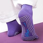 Mujer Calcetines con Dedo / Calcetines Antideslizantes - Morado, Rosa Rojo, Azul Deportes Calcetines Yoga Ropa de Deporte A prueba de