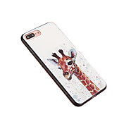 Funda Para Apple iPhone 6 iPhone 7 Plus iPhone 7 Antipolvo Funda Trasera Animal Dura ordenador personal para iPhone 7 Plus iPhone 6s Plus