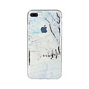 Para Diseños Funda Cubierta Trasera Funda Paisaje Suave TPU para Apple iPhone 7 Plus iPhone 7 iPhone 6s Plus/6 Plus iPhone 6s/6