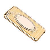 용 거울 케이스 뒷면 커버 케이스 단색 소프트 TPU 용 Apple 아이폰 7 플러스 아이폰 (7) iPhone 6s Plus/6 Plus iPhone 6s/6