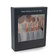 Cepillo para Base Cepillo Corrector Pincel Delineador Pincel para Sombra de Ojos Cepillo para Colorete Sistemas de cepillo Pelo Sintético