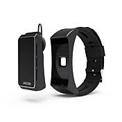 Smart armbånd Pulsmåler Vannavvisende Kalorier brent Pedometere Trenings logg Sundhetspleie Vekkerklokke Lang Standby Anvendelig Lyd