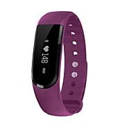 Smart armbånd Pekeskjerm Pulsmåler Vannavvisende Kalorier brent Pedometere Sundhetspleie Informasjon Søvnsporing Sport Bluetooth 4.0 iOS