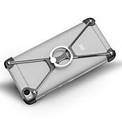 Para Antigolpes Soporte para Anillo Funda Acolchada Funda Un Color Dura Aluminio para Xiaomi Xiaomi Mi 5 Xiaomi Mi 5s Xiaomi Mi 5s Plus