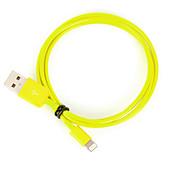 IMF rayo certificado de 8 pines de datos USB de sincronización / cable de carga para el iPhone 7 6s 6 Plus SE 5s 5 ipad (100 cm, verde)
