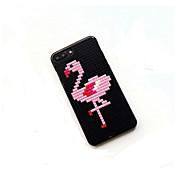 Etui Til Apple iPhone 7 Plus iPhone 7 Mønster GDS Bakdeksel Flamingo Hard PC til iPhone 7 Plus iPhone 7 iPhone 6s Plus iPhone 6s iPhone 6