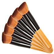 1 Cepillo para Colorete Cepillo Corrector Cepillo para Polvos Cepillo para Base Otros Pinceles Contour Brush Pelo SintéticoProfesional