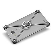 Para Antigolpes Soporte para Anillo Funda Acolchada Funda Un Color Dura Aluminio para Huawei Huawei Mate 7