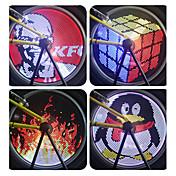 sykkel glødelamper hjul lys LED Sykling PC Programmerbar Vanntett Fargeskiftende GDS 18650 Lumens Sykling