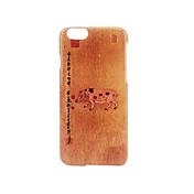 Para Congelada En Relieve Diseños Funda Cubierta Trasera Funda Palabra / Frase Dura Policarbonato para AppleiPhone 7 Plus iPhone 7 iPhone