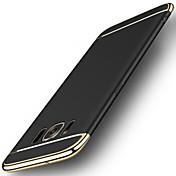 Para Cromado Congelada Funda Cubierta Trasera Funda Un Color Dura Policarbonato para Samsung S8 S8 Plus