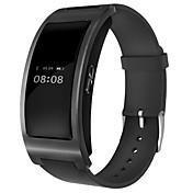Smart armbånd til iOS / Android Pulsmåler / Blodtrykksmåling / Kalorier brent / Lang Standby / Pekeskjerm Stoppeklokke / Aktivitetsmonitor / Søvnmonitor / Stillesittende sittende Påminnelse / Finn