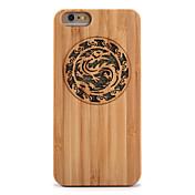 Funda Para iPhone 6s Plus iPhone 6 Plus iPhone 6s iPhone 6 iPhone 5 Apple Antigolpes En Relieve Funda Trasera Animal Brillante Dura Bambú