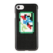 Para Diseños Manualidades Funda Cubierta Trasera Funda Dibujos Dura Policarbonato para AppleiPhone 7 Plus iPhone 7 iPhone 6s Plus iPhone