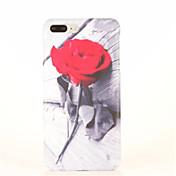 용 패턴 케이스 뒷면 커버 케이스 꽃장식 하드 PC 용 Apple 아이폰 7 플러스 아이폰 (7) iPhone 6s Plus iPhone 6 Plus iPhone 6s 아이폰 6