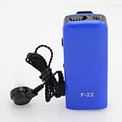 axón F-22 de nuevo invisible más pequeño audífono mejor marca personal amplificador de sonido ajustables tono de audífonos Acousticon