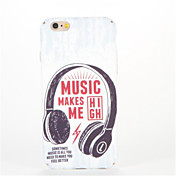 Para En Relieve Diseños Funda Cubierta Trasera Funda Palabra / Frase Dura Policarbonato para AppleiPhone 7 Plus iPhone 7 iPhone 6s Plus