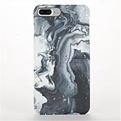 Etui Til Apple iPhone 7 Plus iPhone 7 Matt Mønster Bakdeksel Marmor Hard PC til iPhone 7 Plus iPhone 7 iPhone 6s Plus iPhone 6s iPhone 6