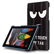 Etui Til Lenovo Heldekkende etui Tablet Cases Hard PU Leather til