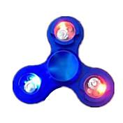 Fidget spinners Hilandero de mano Alta Velocidad Iluminación Alivia ADD, ADHD, Ansiedad, Autismo Juguetes de oficina Juguete del foco