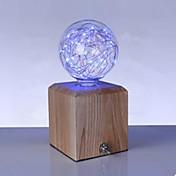 2W 150 lm E27 LED-globepærer G95 33 leds Høyeffekts-LED Blå AC85-265
