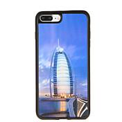 Para Carcasa Funda Diseños Cubierta Trasera Funda Ciudad Suave TPU para AppleiPhone 7 Plus iPhone 7 iPhone 6s Plus iPhone 6 Plus iPhone