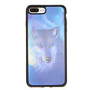 Etui Til Apple iPhone 7 Plus iPhone 7 Mønster Bakdeksel Hund Myk TPU til iPhone 7 Plus iPhone 7 iPhone 6s Plus iPhone 6s iPhone 6 Plus