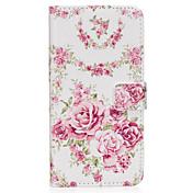 Funda Para Samsung Galaxy S8 Plus S8 Soporte de Coche Cartera con Soporte Flip Magnética Diseños Funda de Cuerpo Entero Flor Dura Cuero