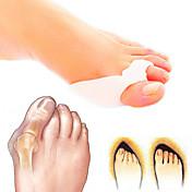 Cuerpo Completo Pie Soporta Dedo del pie y Separadores de juanete Pad Corrector de Postura Soporta Silicona