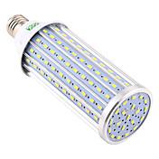 YWXLIGHT® 1pc 60W 5850-5950lm E26 / E27 LED-kornpærer 160 LED perler SMD 5730 Dekorativ Varm hvit Kjølig hvit Naturlig hvit 220V 110V