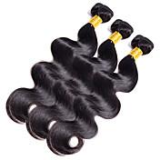 Indisk hår Krop Bølge Hårvever med menneskehår 1 Deler 0.1
