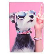 Etui Til Apple iPad Mini 4 iPad Mini 3/2/1 med stativ Flipp Mønster Heldekkende etui Hund Hard PU Leather til iPad Mini 4 iPad Mini 3/2/1