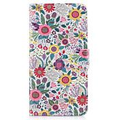 Funda Para Samsung Galaxy S8 Plus S8 Soporte de Coche Cartera con Soporte Flip Funda de Cuerpo Entero Flor Dura Cuero de PU para S8 Plus